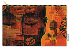 Carry-all Pouch featuring the painting All Seeing by Gloria Rothrock