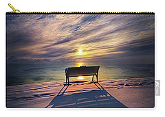 Carry-all Pouch featuring the photograph All Shadows Chase Swift by Phil Koch