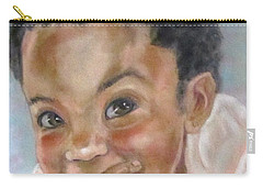 All Smiles Carry-all Pouch by Barbara O'Toole