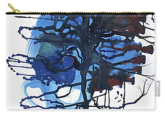 Carry-all Pouch featuring the painting All That I Really Know by Rene Capone