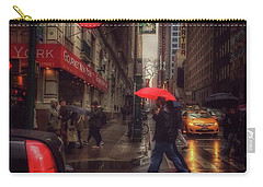 All That Jazz. New York In The Rain. Carry-all Pouch
