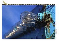 Carry-all Pouch featuring the photograph All The Blue by Lora Lee Chapman