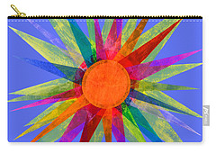 All The Colors In The Sun Carry-all Pouch