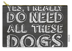 All These Dogs Carry-all Pouch