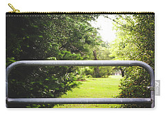 Carry-all Pouch featuring the photograph All Things Green by Shelby Young