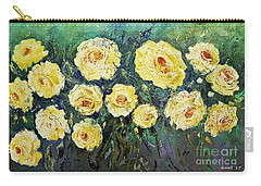 All Yellow Roses Carry-all Pouch