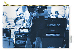 Allen Collins In Blue Oakland 1975 Carry-all Pouch