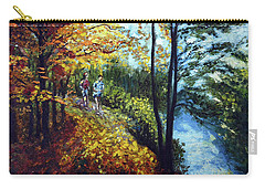 Alley By The Lake 1 Carry-all Pouch