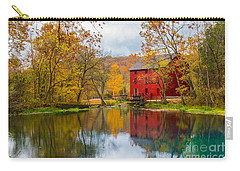 Alley Mill And Spring Carry-all Pouch by Jennifer White