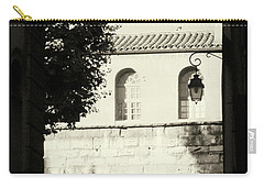 Carry-all Pouch featuring the photograph Alley Mystery by Rasma Bertz