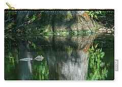 Alligator Canal Carry-all Pouch