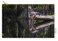 Alligators The Hunt, New Orleans, Louisiana Carry-all Pouch