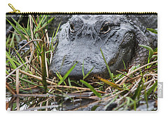 Alligator Closeup 0642a Carry-all Pouch