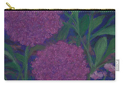 Allium And Geranium Carry-all Pouch