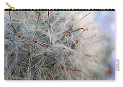 Carry-all Pouch featuring the photograph Allium Sativum by Jolanta Anna Karolska