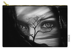 Allure Of Arabia Black Carry-all Pouch