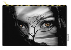 Allure Of Arabia Brown Carry-all Pouch by ISAW Gallery