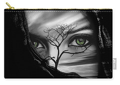 Allure Of Arabia Green Carry-all Pouch by ISAW Gallery