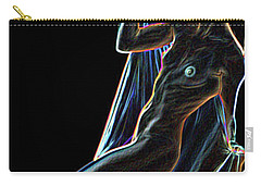 Carry-all Pouch featuring the painting Allure by Tbone Oliver