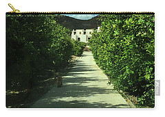 Almeria Mountain Road Spain Carry-all Pouch by Colette V Hera Guggenheim