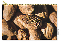 Carry-all Pouch featuring the photograph Almond Nuts by Jorgo Photography - Wall Art Gallery