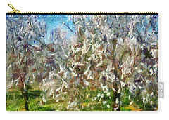 Almond Orchard Blossom Carry-all Pouch