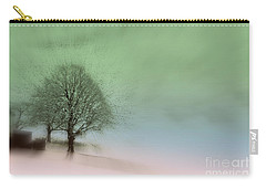 Carry-all Pouch featuring the photograph Almost A Dream - Winter In Switzerland by Susanne Van Hulst