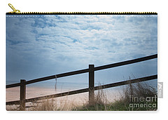 Carry-all Pouch featuring the photograph Almost At The Beach by Jan Bickerton