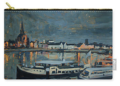 Almost Christmas In Maastricht Carry-all Pouch by Nop Briex