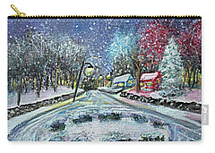 Almost Home Carry-all Pouch by Rita Brown
