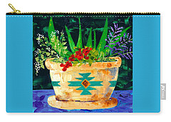 Aloe Vera And Friends  Carry-all Pouch
