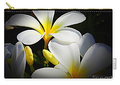 Aloha Flowers Carry-all Pouch by Scott Cameron