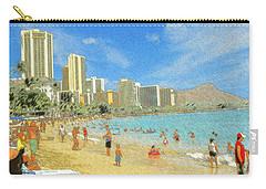 Aloha From Hawaii - Waikiki Beach Honolulu Carry-all Pouch