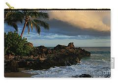 Aloha Naau Sunset Paako Beach Honuaula Makena Maui Hawaii Carry-all Pouch