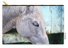 Carry-all Pouch featuring the photograph Alone  by Aaron Berg