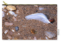 Carry-all Pouch featuring the photograph Alone Among Strangers by Lynda Lehmann