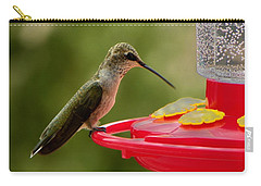 Carry-all Pouch featuring the photograph Alone At Last by Joseph Frank Baraba