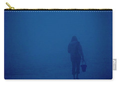 Alone By The Sea Carry-all Pouch by Mary Lee Dereske