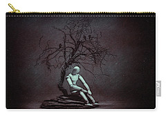 Alone In The Dark Carry-all Pouch by Tom Mc Nemar