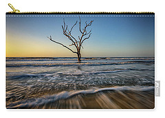Carry-all Pouch featuring the photograph Alone In The Water by Rick Berk