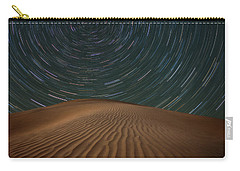 Carry-all Pouch featuring the photograph Alone On The Dunes by Darren White