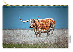 Carry-all Pouch featuring the photograph Alone On The Trail by Linda Unger