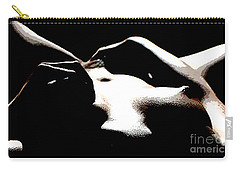 Carry-all Pouch featuring the painting Alone by Tbone Oliver