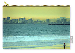 Carry-all Pouch featuring the photograph Alone Time by Everette McMahan jr