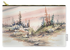 Alone Together Carry-all Pouch by Sam Sidders