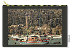 Carry-all Pouch featuring the photograph Along The Bosphorus-istanbul by Tom Prendergast