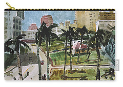 Along Flagler Drive Carry-all Pouch