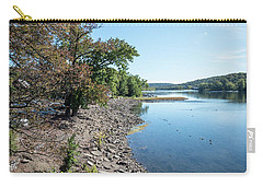 Along The Bank Of The Delaware River Carry-all Pouch