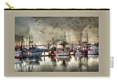 Carry-all Pouch featuring the photograph Along The Bay Front by Thom Zehrfeld