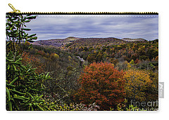 Along The Blue Ridge Parkway Carry-all Pouch